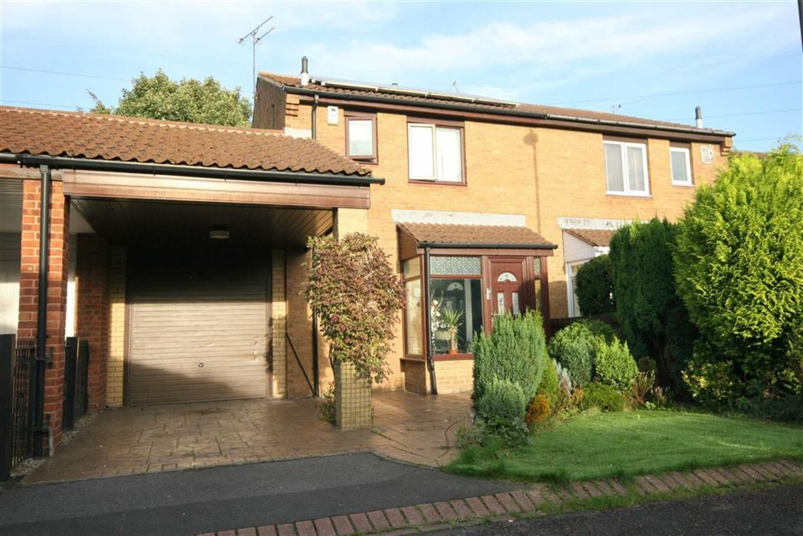 3 Bedrooms Semi Detached House for sale in Sharnford Close, Backworth, NE27