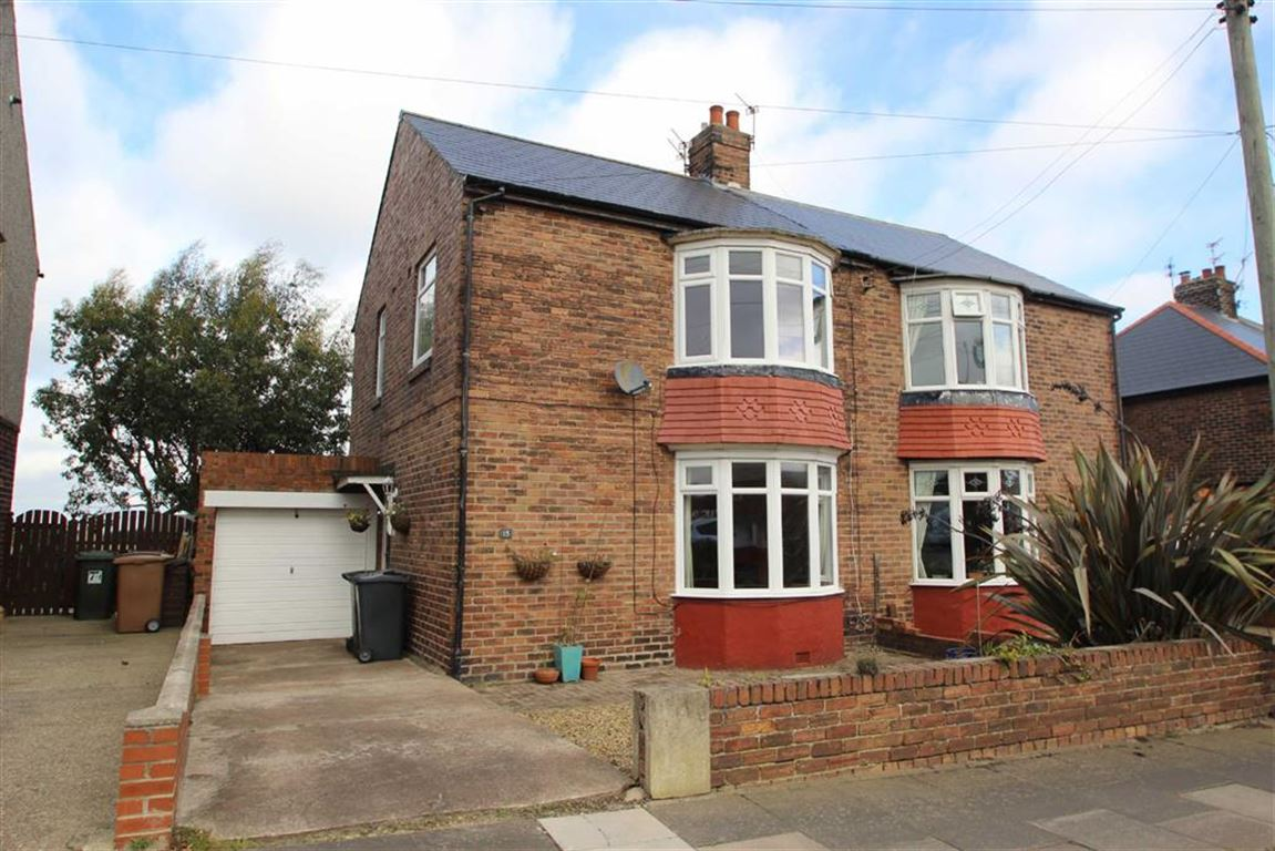 2 Bedrooms Semi Detached House for sale in Rake Lane, North Shields, Tyne And Wear, NE29