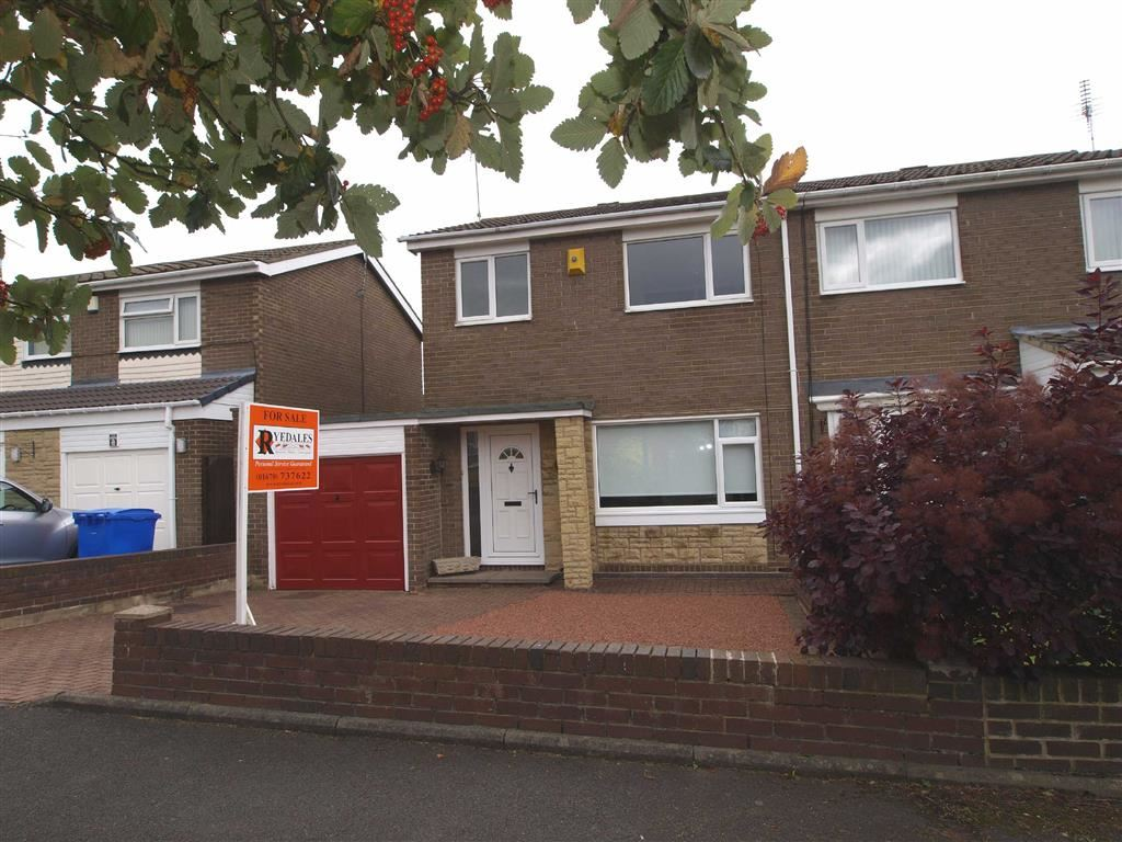 3 Bedrooms Semi Detached House for sale in Totnes Drive, Cramlington
