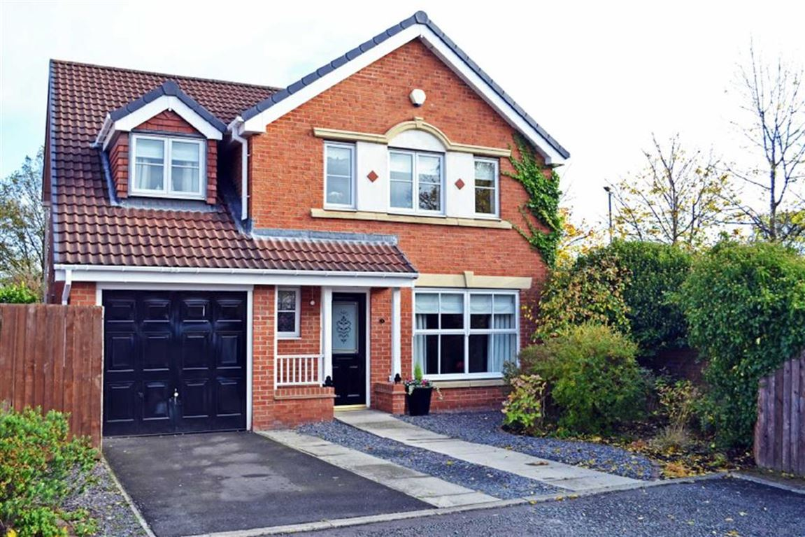 5 Bedrooms Detached House for sale in Loxton Square, Cramlington