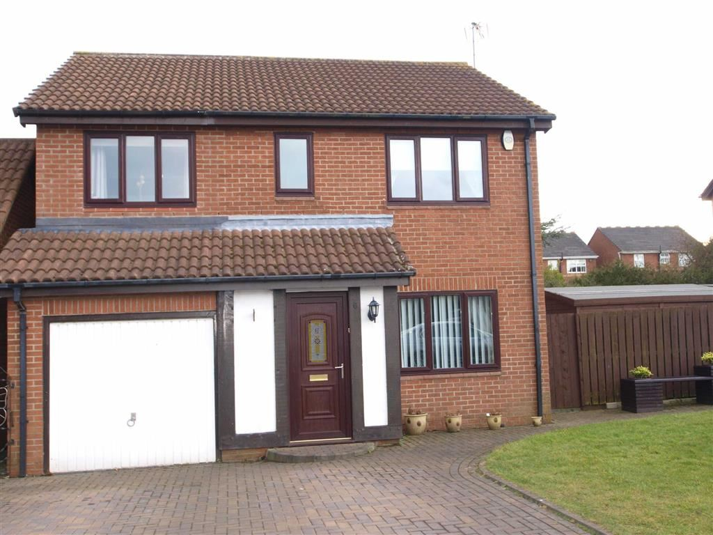 4 Bedrooms Detached House for sale in Selby Close, Cramlington
