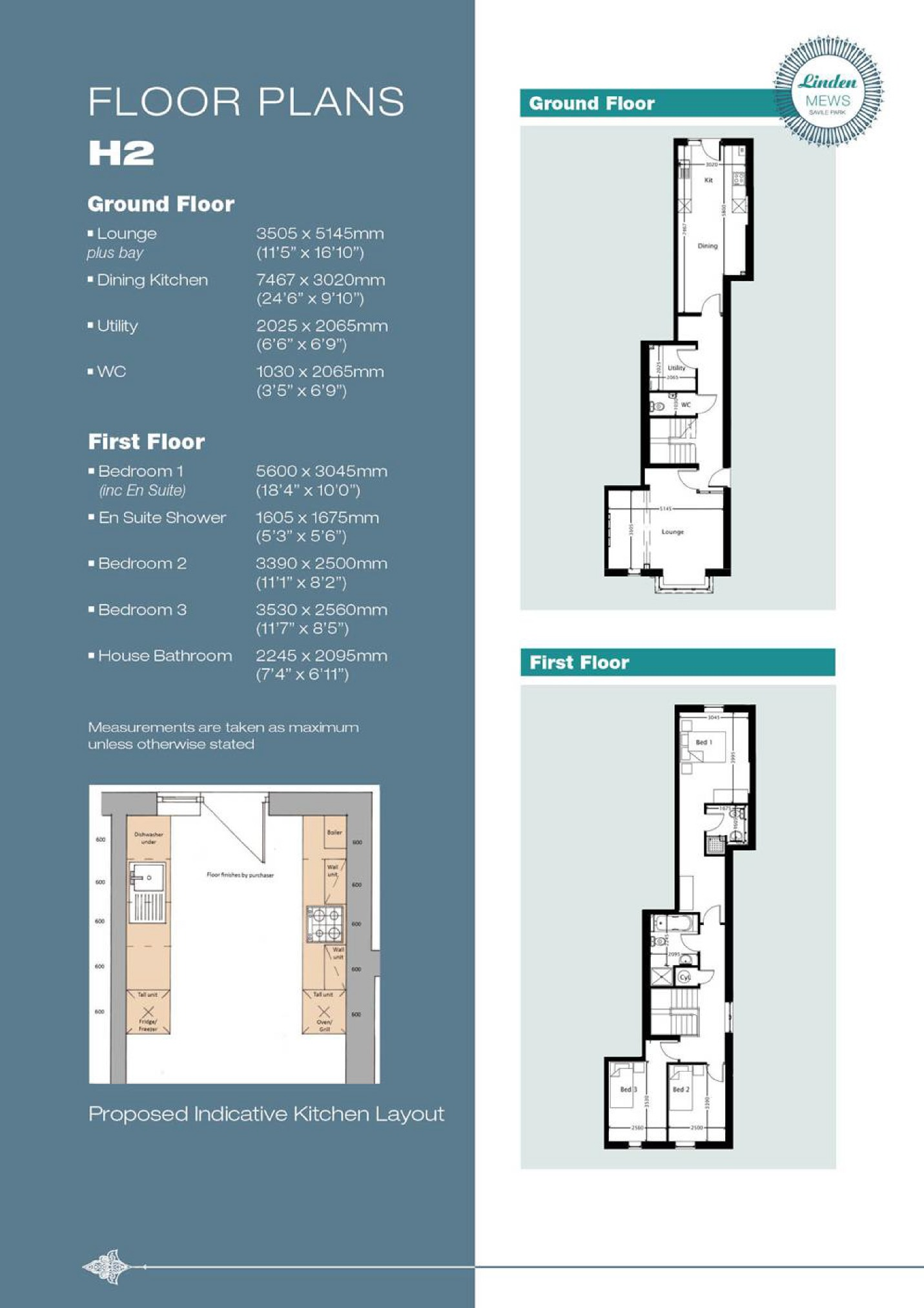 Property details bramleys the property professionals for 15 bruyeres mews floor plans