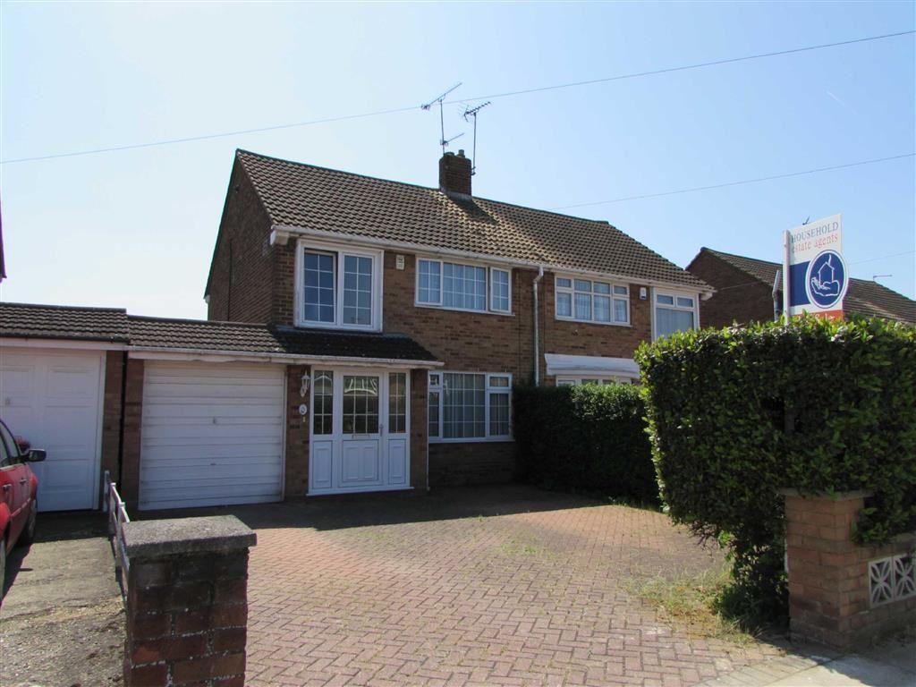 3 Bedrooms Semi Detached House for sale in Linden Road, Dunstable, Bedfordshire, LU5