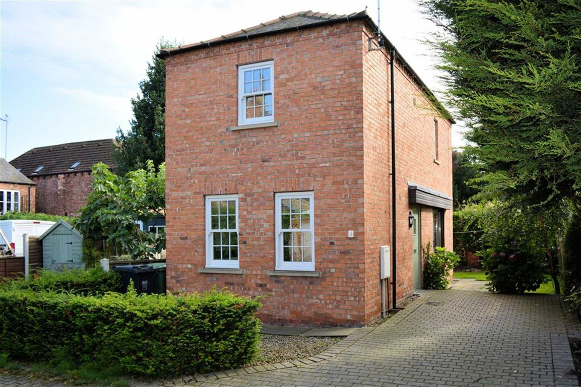 2 Bedrooms Detached House for sale in Armoury Mews, Armoury Road, Selby, YO8