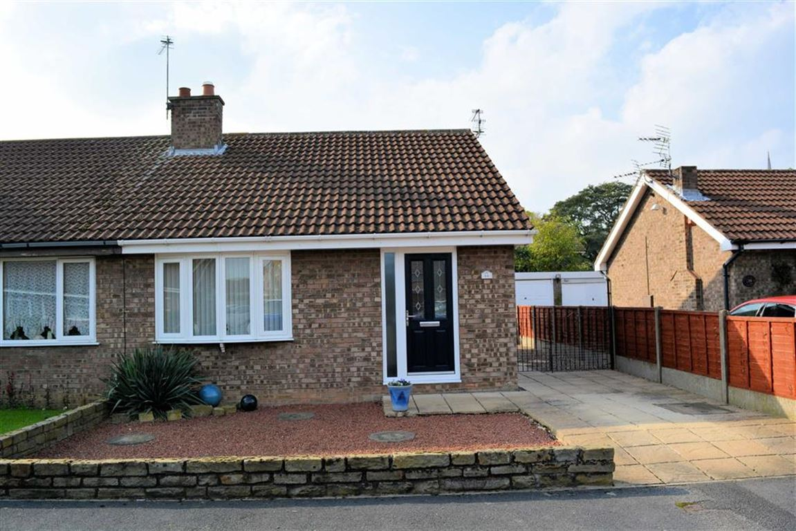 2 Bedrooms Semi Detached Bungalow for sale in Ferry Close, Hemingbrough, YO8
