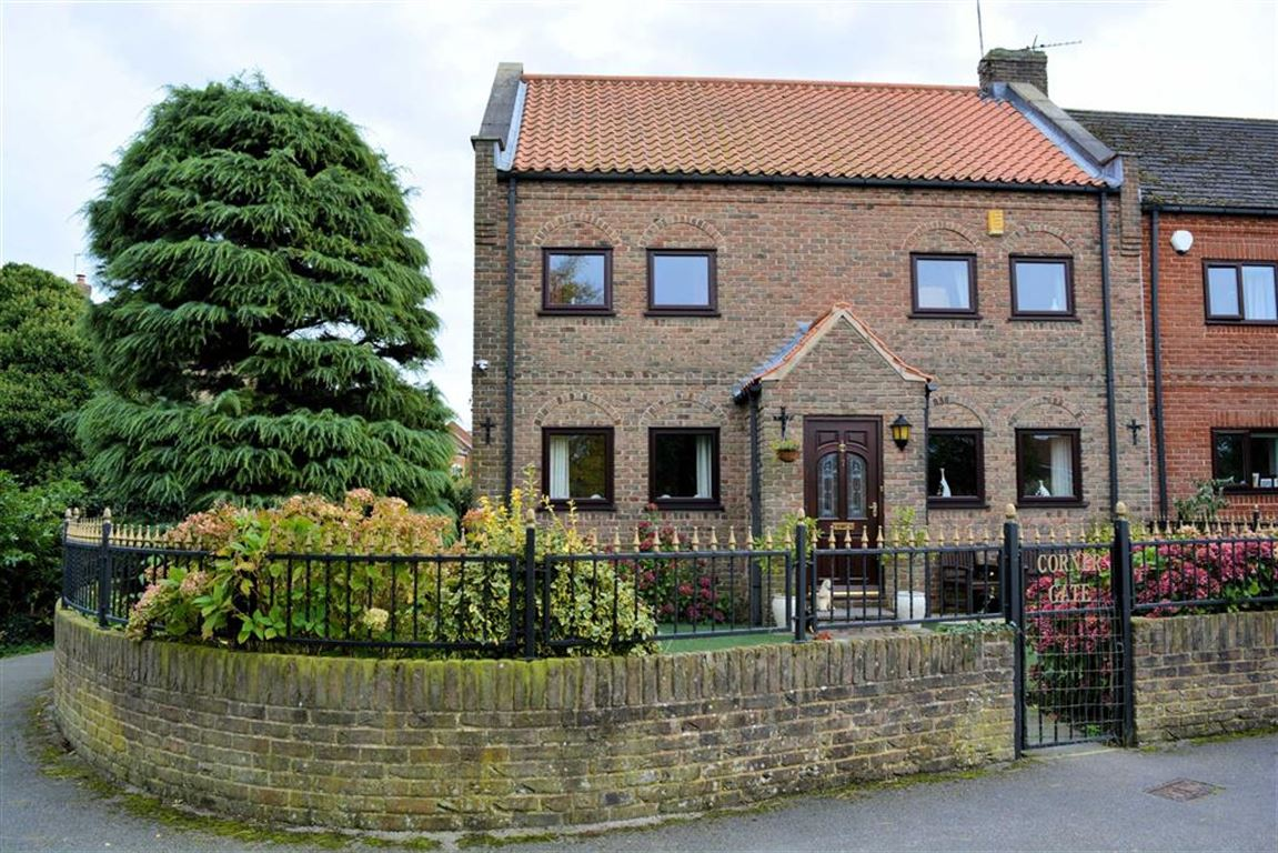 3 Bedrooms Semi Detached House for sale in The Green, Wistow, YO8