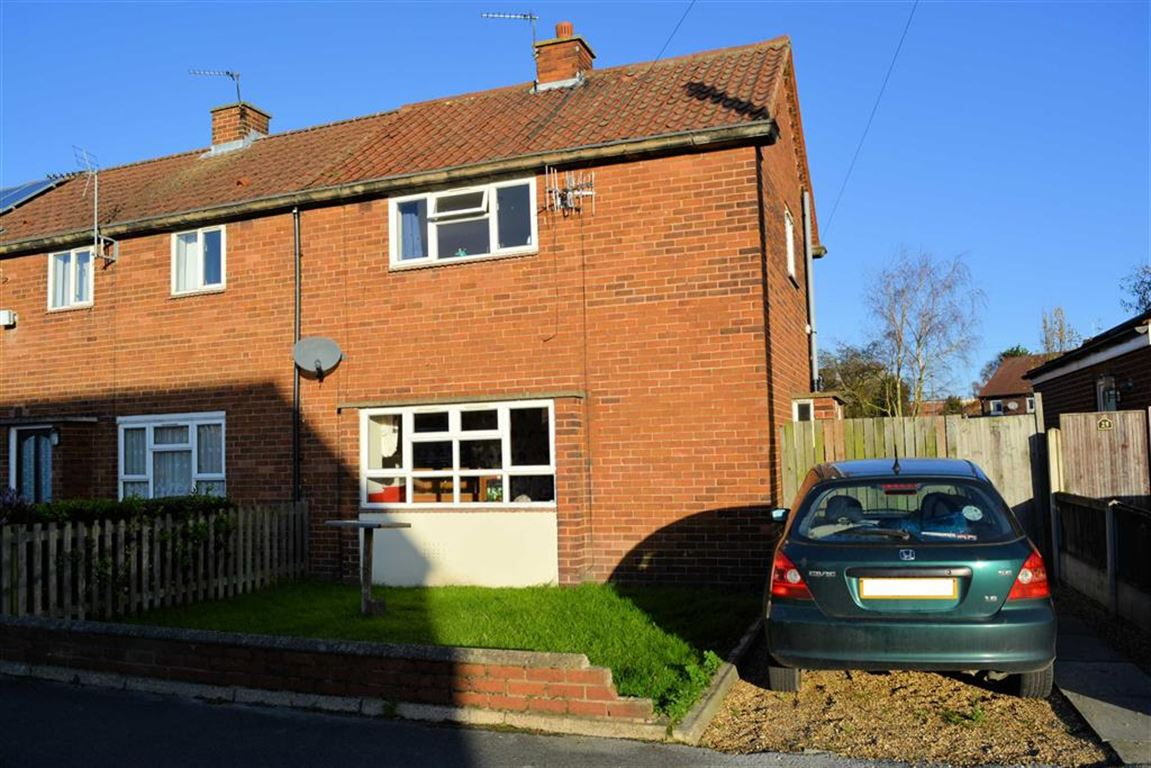 2 Bedrooms End Of Terrace House for sale in Hardy Street, Selby, YO8