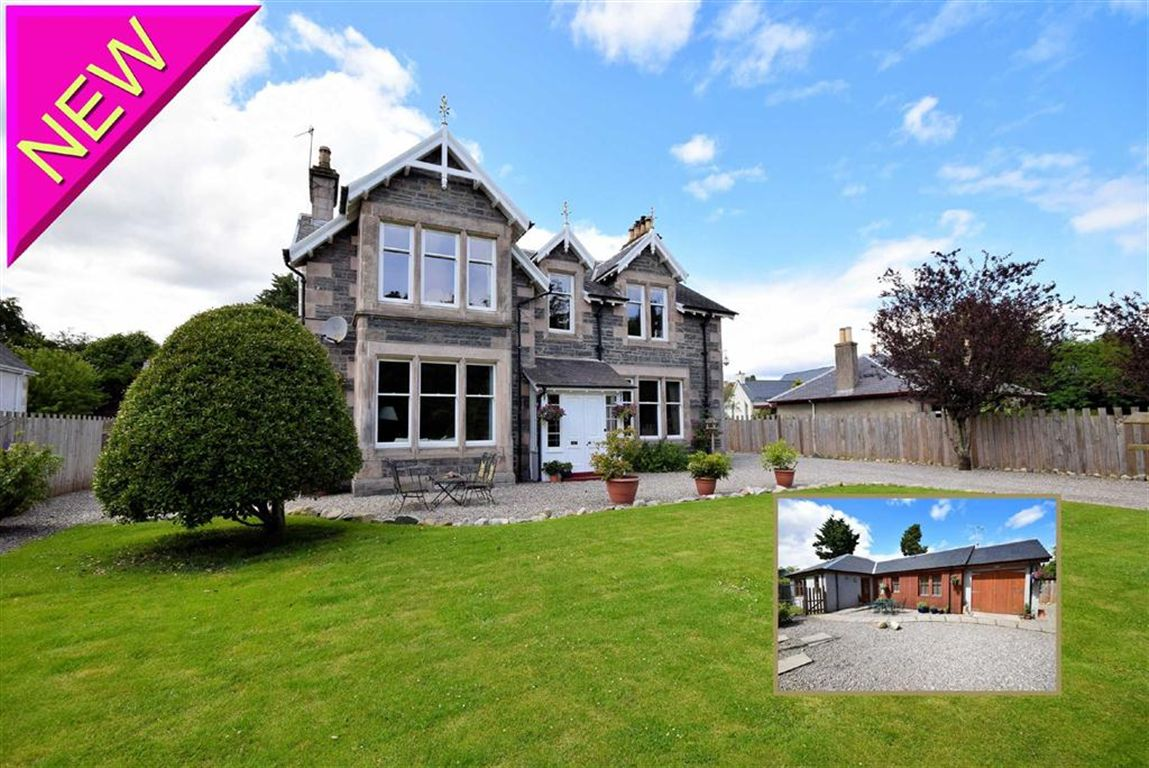 Hill House And Cottage, Heathfield Road, Grantown On Spey