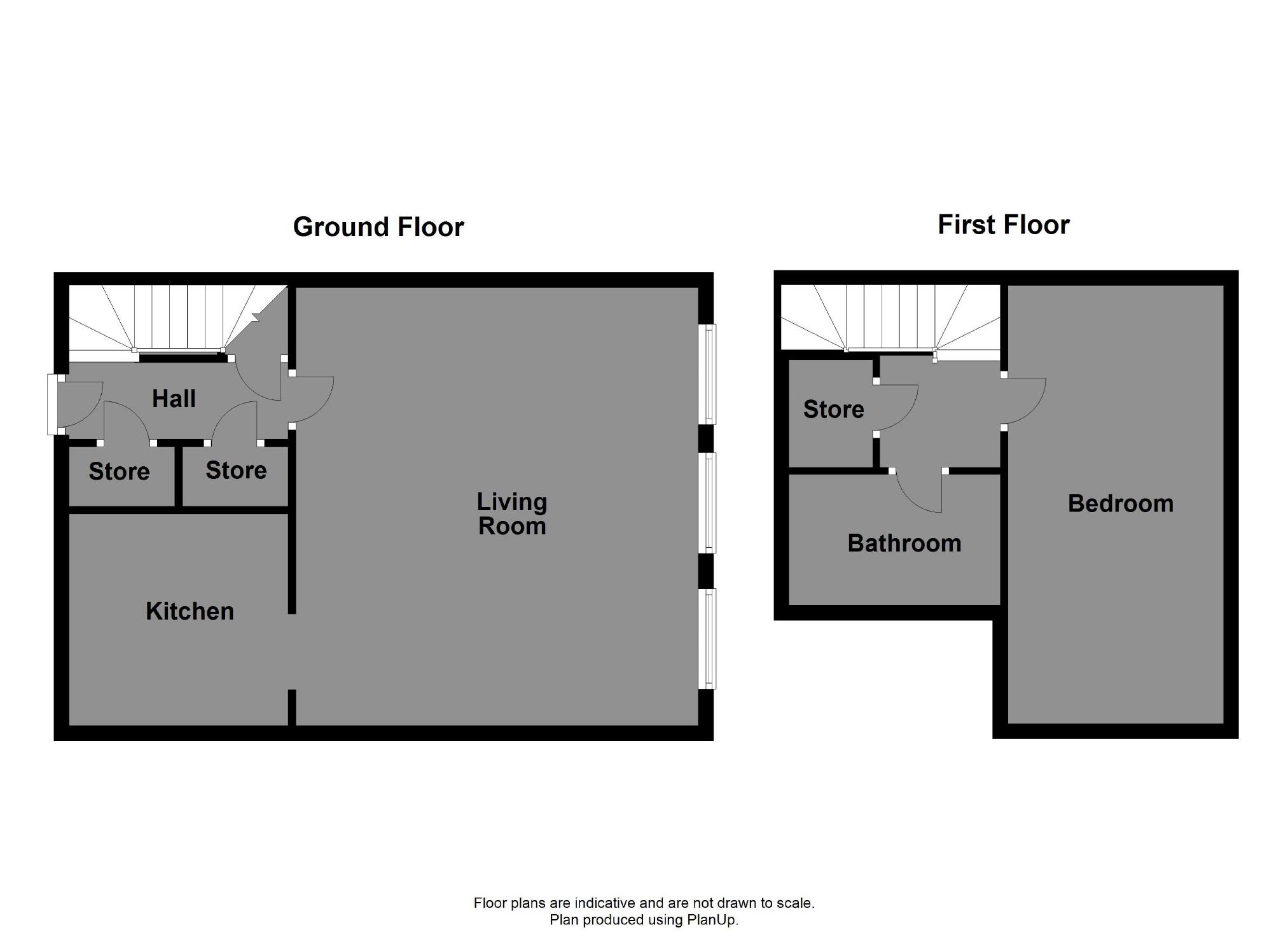 floorplan for Whitaker House, Charlotte Close, Halifax