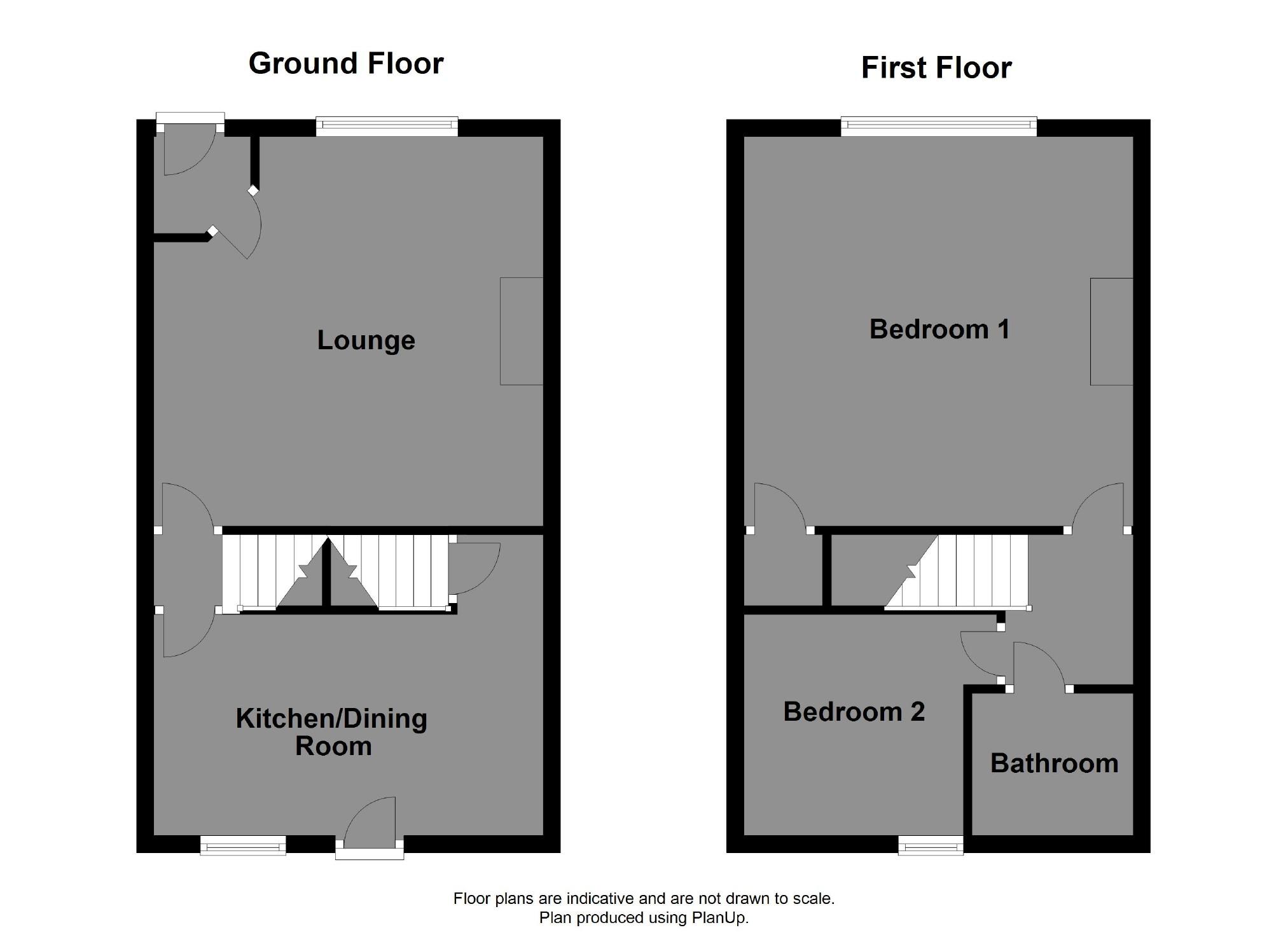 floorplan for South Street, Denholme