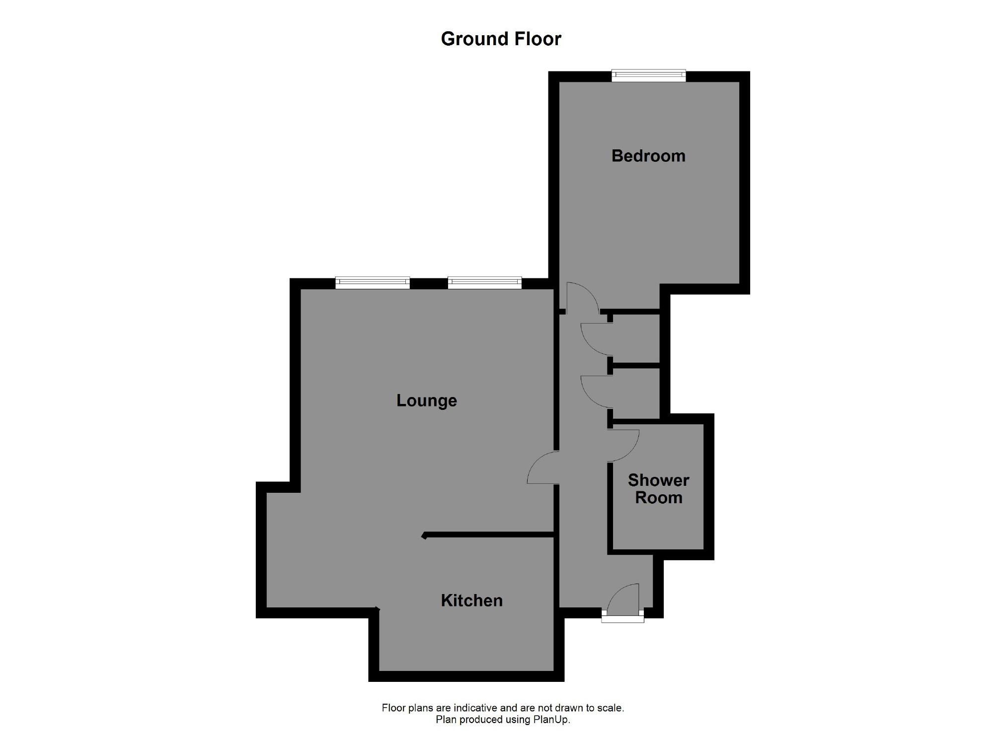 floorplan for Richmond House, Charlotte Close, Halifax