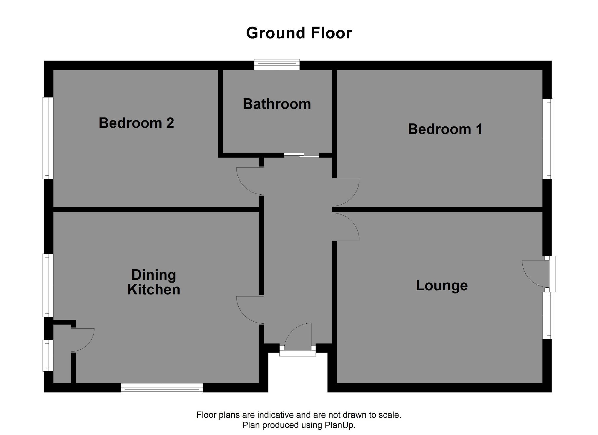 floorplan for Tillotson Holme, Luddendenfoot, Halifax