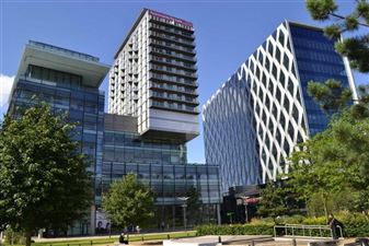 NUMBER ONE MEDIA CITY, SALFORD QUAYS, M50