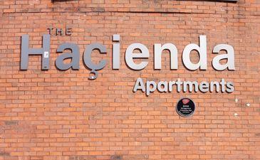THE HACIENDA, Whitworth St West M1 5DE