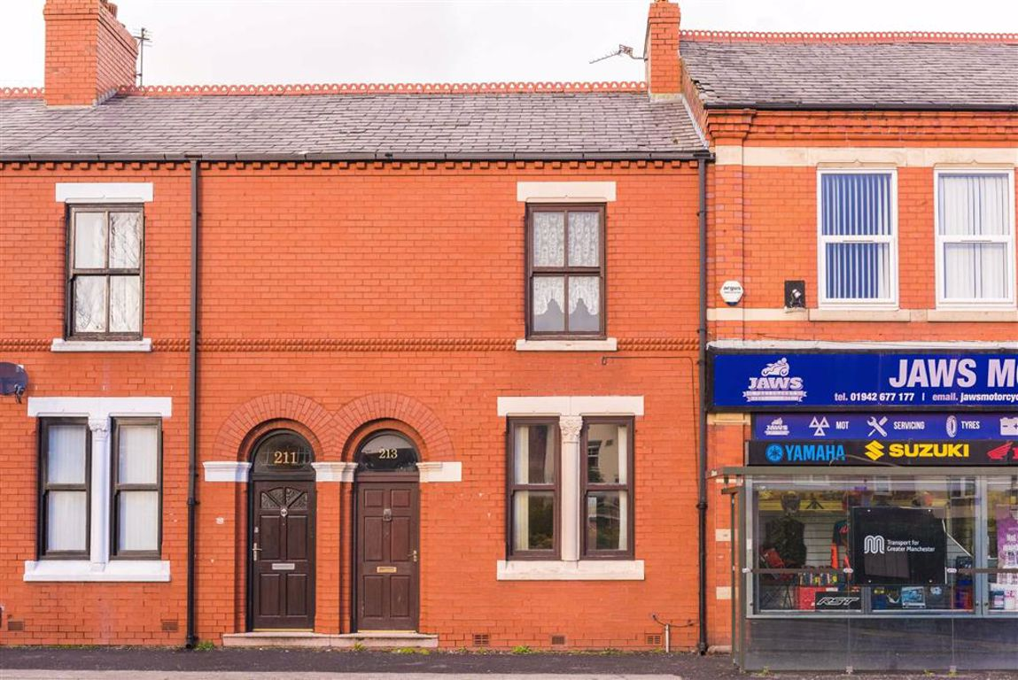 Chapel Street, Leigh, Lancashire