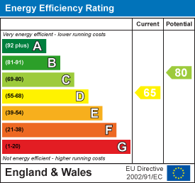 65 of 80 Energy Efficiency Score